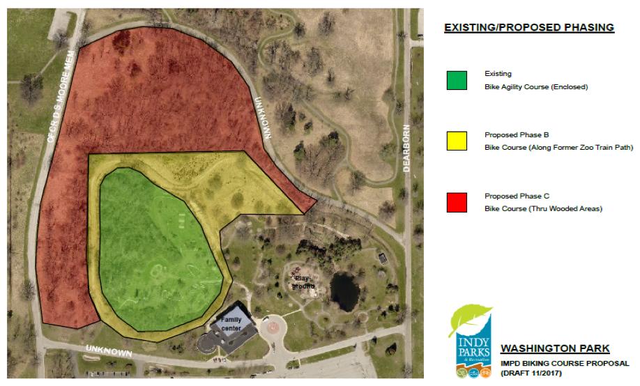 Washington park map phase c